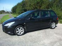 PEUGEOT 307 1.6 SW S HDI 5d 108 BHP (black) 2006