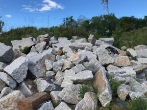 Granite Boulders, Retaining walls or focal points, Stone Steps