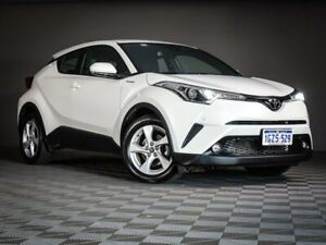 2018 Toyota C-HR NGX10R (No Badge) White Constant Variable Maddington Gosnells Area Preview