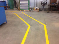 Warehouse Safety Line Painting