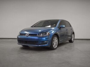 2015 Volkswagen Golf HIGHLINE MANUAL 6-SPD LEATHER SUNROOF