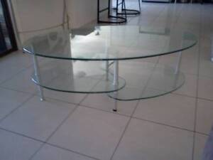 GLASS COFFEE TABLE Bundall Gold Coast City Preview