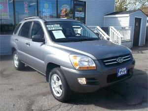 2008 KIA SPORTAGE LX * ONLY 119,000 KMS * LOADED WITH OPTIONS *