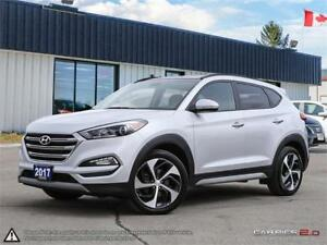 2017 Hyundai Tucson Limited,ECO+SPORT MODES,LOADED,ACCIDENT FREE
