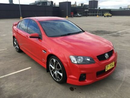 2011 Holden Commodore VE II SS Red 6 Speed Automatic Sedan