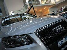 2009 Audi Q5 8R TDI S tronic quattro Silver 7 Speed Sports Automatic Dual Clutch Wagon Essendon Moonee Valley Preview
