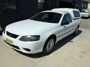 2008 Ford Falcon BF MkII XL (LPG) White 4 Speed Auto Seq Sportshift Utility Mortdale Hurstville Area Preview