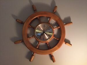MOVING SALE SHIPS WHEEL CLOCK Kawartha Lakes Peterborough Area image 2