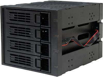 "Rosewill RSV-SATA-Cage-34 - Hard Disk Drives - Black, 3 x 5.25"" to 4 x 3.5"" Hot-"