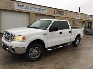 2008 Ford F-150 XLT-CREW CAB-4X4-LOADED-ALLOYS