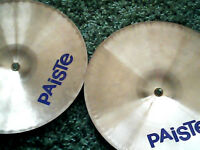 "Paiste 1000 Series 14"" Heavy Hi Hats (Very good condition)"