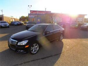 2013 MERCEDES BENZ C300 4MATIC ALL WHEEL LEATHER EASY FINANCE
