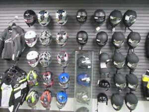 All helmets are on Clearance at Coopers Motorsports!