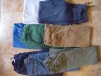 Boys 10-11 Trouser/Jeans/Joggers (8 items)