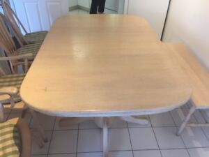 Harvest Oak Dining Room Table, Seating for 9; Room for 14