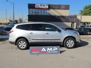 2013 Chevrolet Traverse FWD V6 3.6L SCREEN 7 PASS CAMERA NO RUST