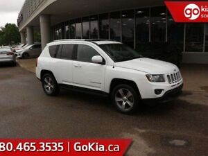 2016 Jeep Compass HIGH ALTITUDE; SUNROOF, 4X4, LEATHER, BACKUP C