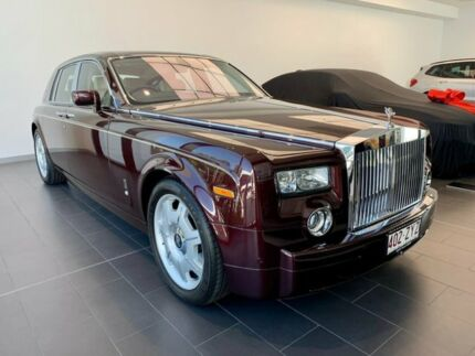 2007 Rolls-Royce Phantom 1S68 Red 6 Speed Automatic Sedan Southport Gold Coast City Preview