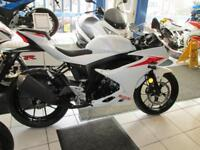 Suzuki GSXR125 WITH ONLY 19 MILES FROM NEW LOW RATE FINANCE