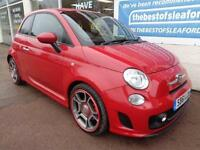Fiat 500 1.4 T-Jet 135 Abarth Full S/H Low Miles Finance Available P/X