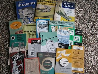 Lot 16 Booklets Building Trades Hardware How To