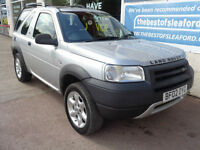 Land Rover Freelander 1.8 2002 4x4 Serengeti Ltd Edn Full MOT