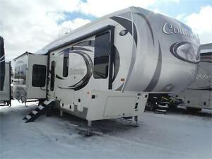 2017 Columbus 340RK Luxury Rear Kitchen 5th Wheel w 3 slideouts