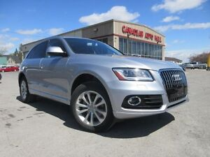 2016 Audi Q5 PROGRESSIV AWD, NAV, LEATHER, 24K!