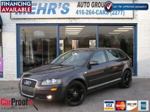 2008 Audi A3 2.0l Turbo Auto Loaded Dual Sunrf BLACK FRIDAY SALE