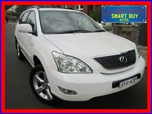 2006 Lexus RX350 GSU35R Sports Luxury White 5 Speed Sequential Auto Wagon Canada Bay Canada Bay Area Preview