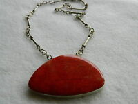 REDUCED! Large coral pendant