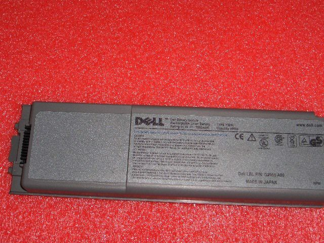 7P066 Dell, Inc 72WH Precision M60 Laptop Notebook Battery