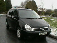 61 REG KIA SEDONA 2.2CRDi DIESEL WHEELCHAIR ACCESS VEHICLE 6 MONTH WARRANTY