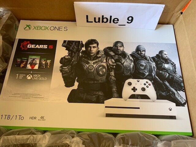 Microsoft Xbox One S 1TB Console - Gears 5 Bundle_ New Seale