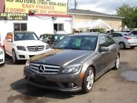 2010 Mercedes C300 4MATIC LEATHER 68K-100% APPROVED FINANCING