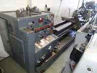BINNS & BERRY TB707 DOUBLE GAP BED CENTRE LATHE