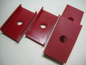 DATSUN 1000 Leaf Spring RED Urethan Rubber Pad (For NISSAN B10 B20 KB10 VB10)