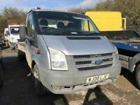 2008 Ford Transit Recovery Truck diesel, starts and drives very well, 1 years MOT, has 2 ramps, elec