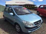 2010 Hyundai Getz Hatchback ONLY TRAVELLED 81,000 KMS A/C,P/S,MAN Jewells Lake Macquarie Area Preview