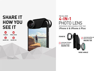 Olloclip 4-in-1 Quick Connect Lens Kit