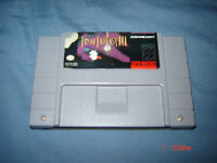FINAL FANTASY III SUPER NINTENDO SNES RPG