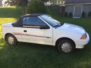 1991 Pontiac Firefly Convertible Convertible