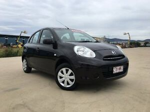 2014 Nissan Micra K13 MY13 ST Black 4 Speed Automatic Hatchback Garbutt Townsville City Preview