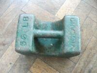 56 LB weight