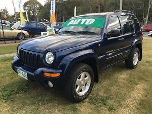 2001 Jeep Cherokee KJ Sport (4x4) Blue 4 Speed Automatic Wagon Clontarf Redcliffe Area Preview