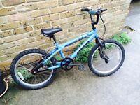 BMX BIKE BLUE