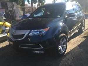 2012 ACURA MDX PREMIUM 7 PASSENGER LEATHER LOADED!