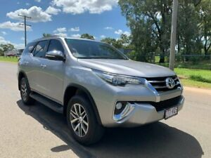 2015 Toyota Fortuner GUN156R Crusade Silver Sky 6 Speed Automatic Wagon Oakey Toowoomba Surrounds Preview