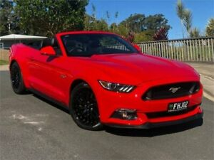 2016 Ford Mustang FM 2017MY GT SelectShift Red 6 Speed Sports Automatic Convertible Chevallum Maroochydore Area Preview