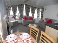 STUNNING PRE-OWNED STATIC CARAVAN FOR SALE AT WHITLEY BAY HOLIDAY PARK NORTH EAST COAST NR SANDBAY